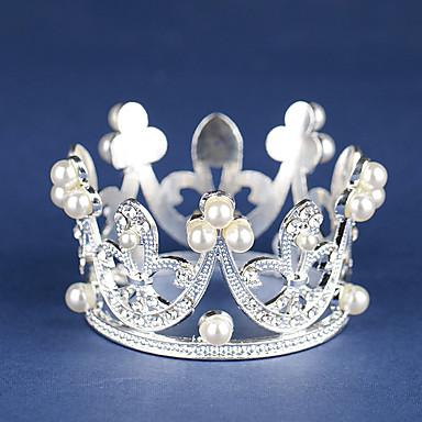 Legering Tiaras med Imiterte Perler 1 Deler Bryllup / Bursdag Hodeplagg