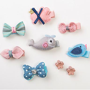 preiswerte Hundekleidung-Katze Hund Haar Accessoires Hundekleidung Fasergemisch Kostüm Für Frühling & Herbst