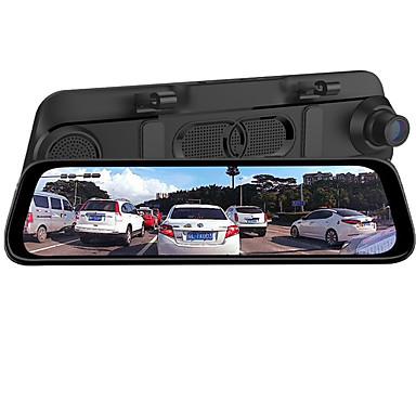 hesapli Araba DVR-AD-800 1080p Buğulanmaz / Sevimli / Yaratıcı Araba DVR'si 170 Derece Geniş açı CMOS 9.7 inç IPS Dash Cam ile Gece görüşü / G-Sensor / park Modu Hayır Araba Kaydedici