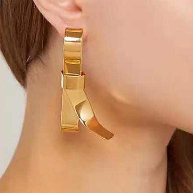 Γυναικεία Κρεμαστά Σκουλαρίκια Σκουλαρίκι Πεπαλαιωμένο Στυλ Φιογκάκι Σκουλαρίκια Κοσμήματα Χρυσό Για Πάρτι Καθημερινά Δρόμος Αργίες Φεστιβάλ 1 Pair