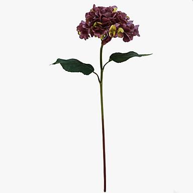 Ψεύτικα λουλούδια 1 Κλαδί Κλασσικό Σύγχρονη Σύγχρονη Αιώνια Λουλούδια Λουλούδι για Τραπέζι