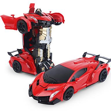 Radiostyrt Bil 8202 2CH Infrarød Driftbil 1:14 Børsteløs Elektrisk 7.2 km/h USB / Bevegelige og Bøybare hoder / Ungdom