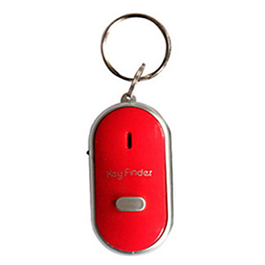 billige Interiørtilbehør til bilen-Mini Whistle Anti Lost Key Finder Trådløs Smart Blinkende Piping Remote Lost Keyfinder Locator med ledet fakkel