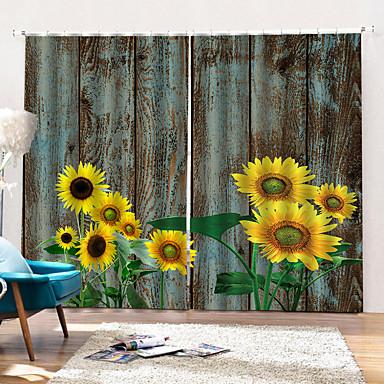 ηλιοτρόπιο υψηλής ευκρίνειας εκτύπωση ποιμενική ισχυρή αντοχή παράθυρο κουρτίνα antiwrinkle συσκότιση θερμομόνωση κουρτίνα ντους