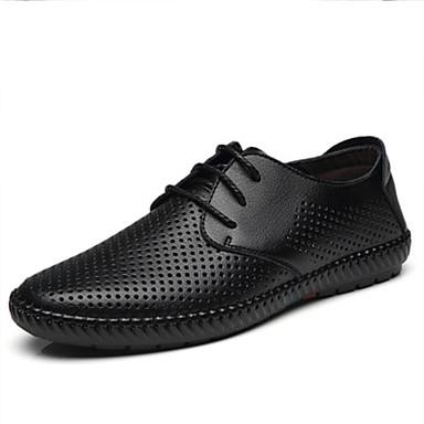 Ανδρικά Παπούτσια άνεσης Συνθετικά Ανοιξη καλοκαίρι Oxfords Μαύρο / Καφέ / Κίτρινο