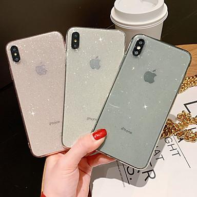 povoljno Apple oprema-Θήκη Za Apple iPhone XR / iPhone XS Max / iPhone X Šljokice Stražnja maska Šljokice Mekano TPU