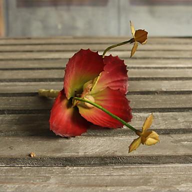 Kunstige blomster 1 Gren Klassisk Moderne Evige blomster Bordblomst