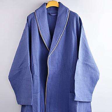 preiswerte Handtücher und Bademäntel-Gehobene Qualität Bademantel, Solide 100% Polyester 1 pcs