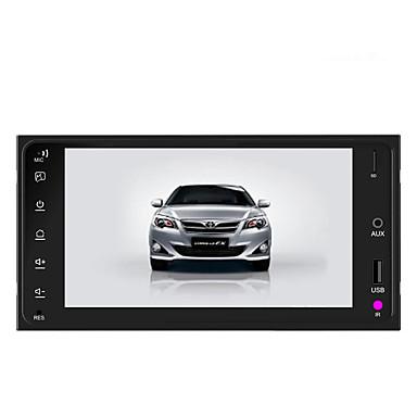 7 polegada android carro gps navigator para toyota corolla tela de toque / built-in bluetooth / wi-fi / microusb / mpeg / avi / mov / mp3 / wma / wav / jpeg / gif / bmp