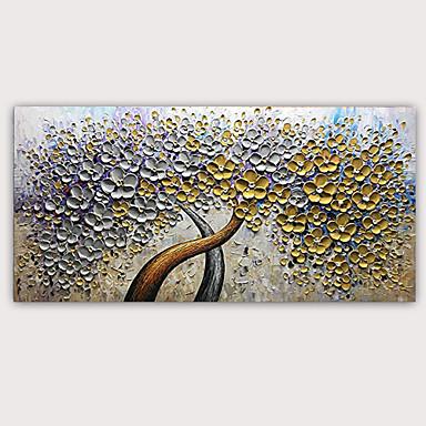 povoljno Ulja na platnu-Hang oslikana uljanim bojama Ručno oslikana - Sažetak Poznat Klasik Moderna Bez unutrašnje Frame