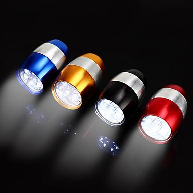 LED Sykkellykter Frontlys til sykkel LED Sykkel Sykling Vanntett Bærbar Justerbar Holdbar Li-polymer CR2032 130 lm CR2032 batteri Hvit Camping / Vandring / Grotte Udforskning Sykling / IPX 6