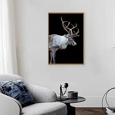 Impressão de Arte Emoldurada Conjunto Emoldurado - Animais Arte Pop Poliestireno Fotografias Arte de Parede
