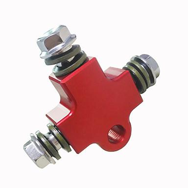 universell motorsykkel modifisert hydraulisk bremseslange linje cnc pipe tee kontakt