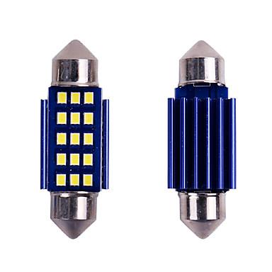 povoljno Auto unutrašnja svjetla-10pc festoon canbus c5w vodio unutarnje svjetlo 31mm 36mm 39mm 41mm 12smd 2016 čipovi vodio kupola automobila bez pogreške pogreška auto svjetiljka 12v