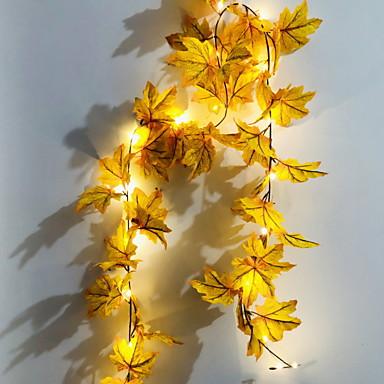 1,5 ίντσες Φώτα σε Κορδόνι 010 LEDs Θερμό Λευκό Διακοσμητικό 5 V 1set