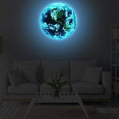 Διακοσμητικά αυτοκόλλητα τοίχου - Φωτεινά Αυτοκόλλητα Τοίχου Σχήματα Υπνοδωμάτιο
