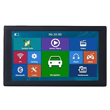 levne Auto Elektronika-9 palcové GPS navigace GPS navigace satnav navigátory 256/8 GB bluetooth av-in fm vysílač mapy zdarma