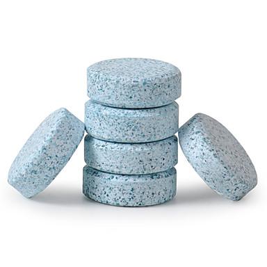 6 stk / sett bil frontrute glass vaskemaskin renere kompakt brennevin tabletter vaskemiddel