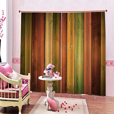 fargerik hjemmekontakt vanntett, vanntett polyester bad gardin varme / lydisolering blackout gardiner for stue / stue