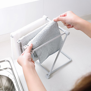 1pc Ράφια & Στγρίγματα Σίδερο Εύκολο στη χρήση Για μαγειρικά σκεύη