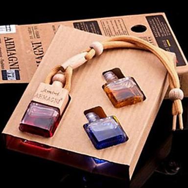 voordelige Auto-interieur accessoires-auto luchtreinigers gemeenschappelijke auto parfum glas verwijderen ongebruikelijke geur / aromatische functie / amini driedelige set opknoping auto parfum geur willekeurige - cxq