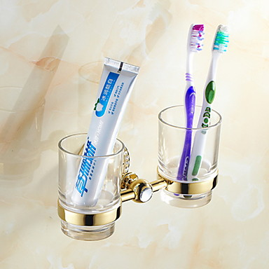 Θήκη για οδοντόβουρτσα Δημιουργικό Σύγχρονο Κράμα τιτανίου 1pc - Μπάνιο Επιτοίχιες