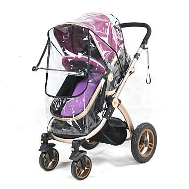 preiswerte Regenschirme-Universal Kinderwagen Buggy Regenhülle Baby transparent Kinderwagen Kinderwagen Windschutz