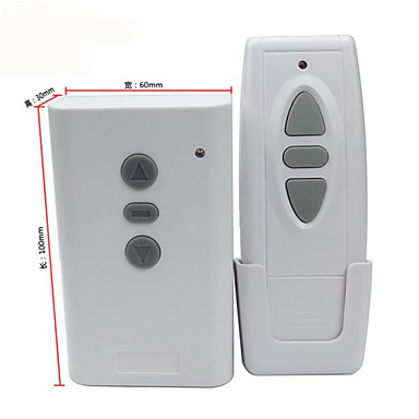 cheap Smart Switch-Smart Switch AK-CL02+AK-1000-3C for Daily / Living Room / Outdoor Remote Controlled / Creative / Easy to Install Remote Wireless 220 V