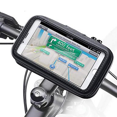 voordelige Auto-interieur accessoires-motorfiets stuur telefoon houder ritsvak waterdichte pu lederen accessoires