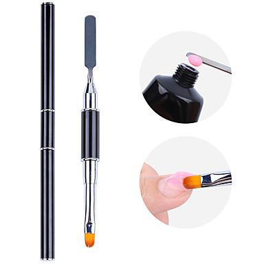 levne Náčiní a vybavení-1 sada dvojitý dvojitý hřebík fototerapie tónování vzít lepidlo reliéfní přinesl velký multifunkční nail art pera