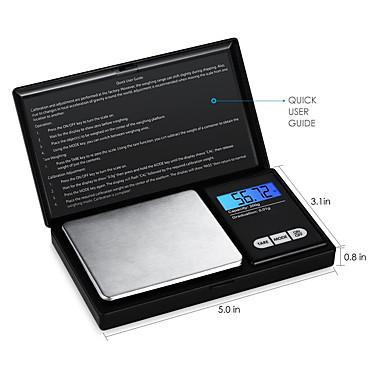 preiswerte Waagen-hochpräzise Schmuckwaage Elektronische Waage 0,01 g Mini Elektronische Waage Tragbare Taschenwaage 0,01 g - 200 g / 0,01 g