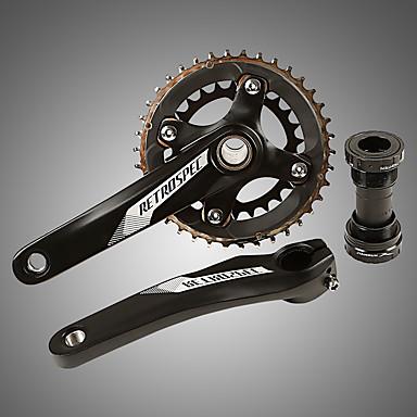 povoljno Dijelovi za bicikl-Cranksets Za Mountain Bike Aluminum Alloy Pojačana izdržljivost / Izdržljivost / Jednostavna primjena Biciklizam Crn