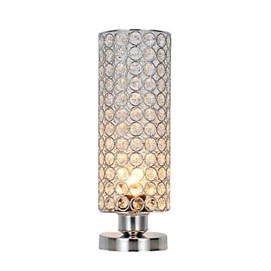 Cristal / Contemporâneo Moderno Cristal / Adorável Luminária de Mesa Para Sala de Estar / Quarto Metal 110-120V / 220-240V