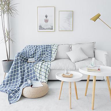 almofada do sofá Contemporâneo Gravado Poliéster Capas de Sofa