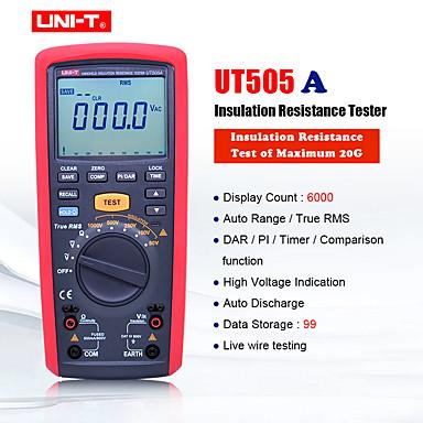 levne Testovací, měřící a kontrolní vybavení-uni-t ut505a 1000v digitální ruční kapesní pravý megger izolační odpor metr tester multimetry ohm voltmetr megohmmetr