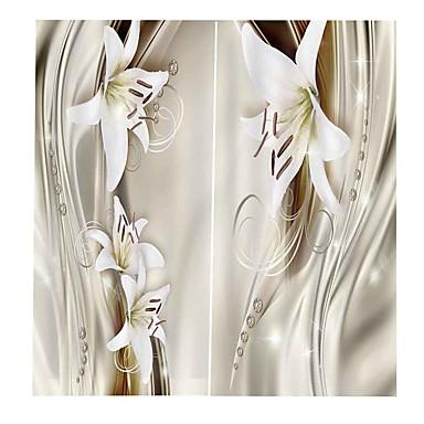 ζεστό πώληση 3d εκτύπωση ελαφρύ και πολυτελή λουλούδια διακόσμηση σπιτιού πανί κουρτίνα σκίαση αδιάβροχο και μούχλα-απόδειξη μπάνιο κουρτίνα στούντιο καθιστικό ηχομονωτική κουρτίνα