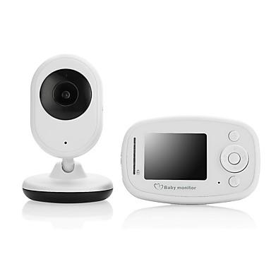ασύρματη κάμερα παρακολούθησης μωρού συσκευή ψηφιακής φροντίδας υποστήριξη ενδοεπικοινωνίας θερμοκρασία δωματίου προβολή και νούμερο