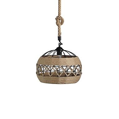 Lanterne Anheng Lys Omgivelseslys Hemp Rope Nytt Design 110-120V / 220-240V
