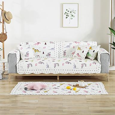 almofada do sofá Contemporâneo Bordado Algodão Capas de Sofa