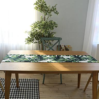 Klassisk silica Gel Rund Bordskånere Blomstret Borddekorasjoner