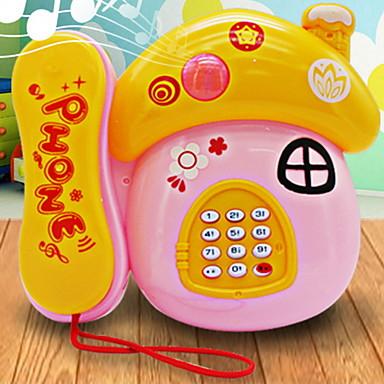 Leseleke Leketelefoner Lindrer ADD, ADHD, angst, autisme Foreldre-barninteraksjon Kreativ Tegneseriefigurer Plastskall ABS Resin Tegneserie 3 pcs Baby Alle Leketøy Gave