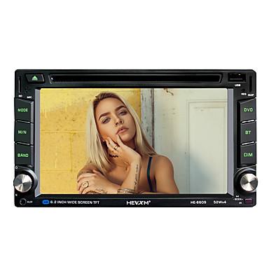 billige Bil Elektronikk-litbest 6609 6,2 tommers 2 din android in-dash bil dvd-spiller / bil gps navigator berøringsskjerm / gps / innebygd Bluetooth for universell Bluetooth støtte mov / rm og så videre
