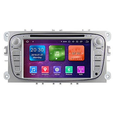 levne Auto Elektronika-winmark wg7009s android 9.0 in-dash auto dvd přehrávač multimediální systém 7 palců 2 din octa jádro 4g 32g wifi ex-3g dab pro ford focus 2009-2010 wg7009 stříbrná