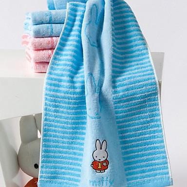 Overlegen kvalitet Vaskehåndklæ, Geometrisk 100% bomull Baderom 1 pcs