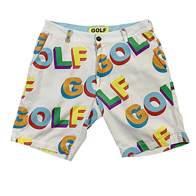 Herre Dame Shorts Golf Løp treningsklær utendørs Sommer / Bomull / Mikroelastisk / Pustende