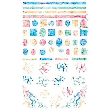 1 pcs Klistremerker Totem Serier Neglekunst Manikyr pedikyr Mini Stil / Verneutstyr / Ergonomisk Design Stilfull / Enkel