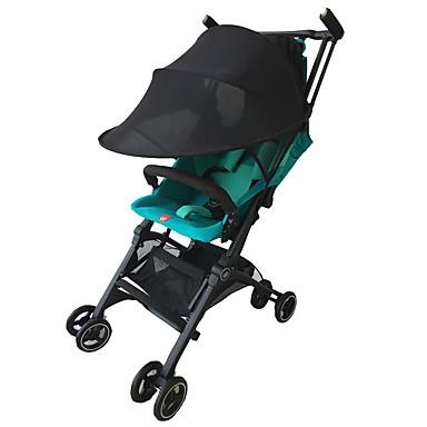 preiswerte Regenschirme-Kinderwagen Kinderwagen Buggy Sonnensegel Baldachinabdeckung universal schwarz