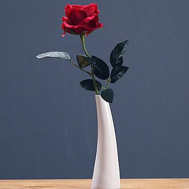 Ψεύτικα λουλούδια 1 Κλαδί Κλασσικό Σύγχρονη Σύγχρονη Γάμος Τριαντάφυλλα Λουλούδι για Τραπέζι