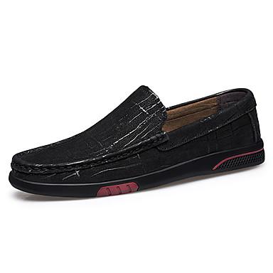 Ανδρικά Παπούτσια άνεσης Συνθετικά Άνοιξη / Φθινόπωρο Μοκασίνια & Ευκολόφορετα Αναπνέει Μαύρο / Καφέ