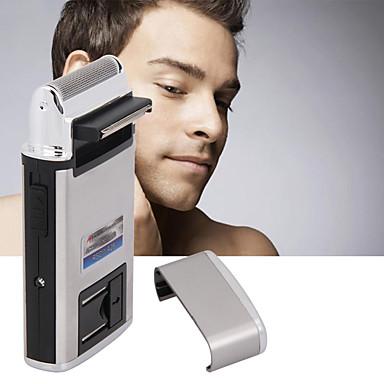 usb portátil recarregável recarregável-tipo barbeador homens barba aparador navalha rosto